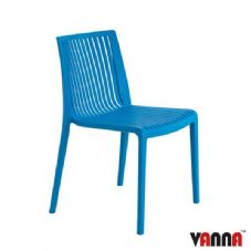 Vanna Zoom Side Chair - Blue
